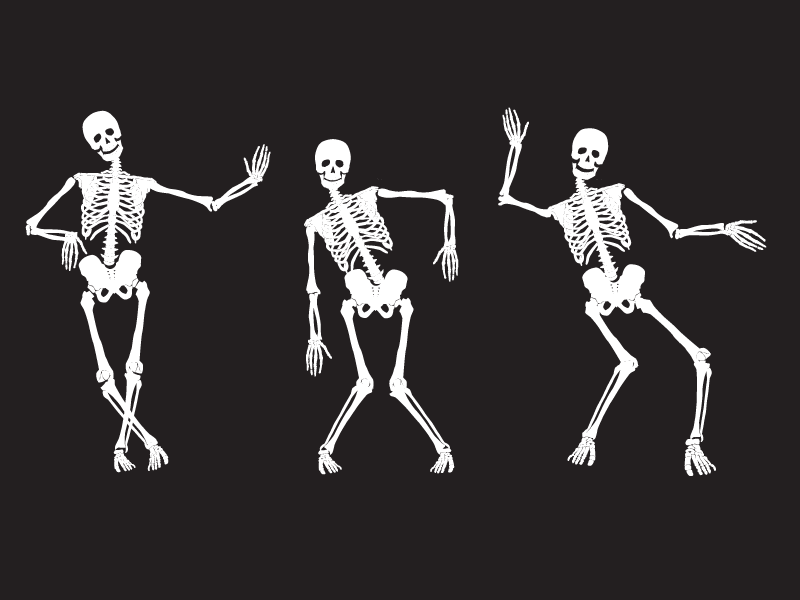 bone facts dancing skeleton